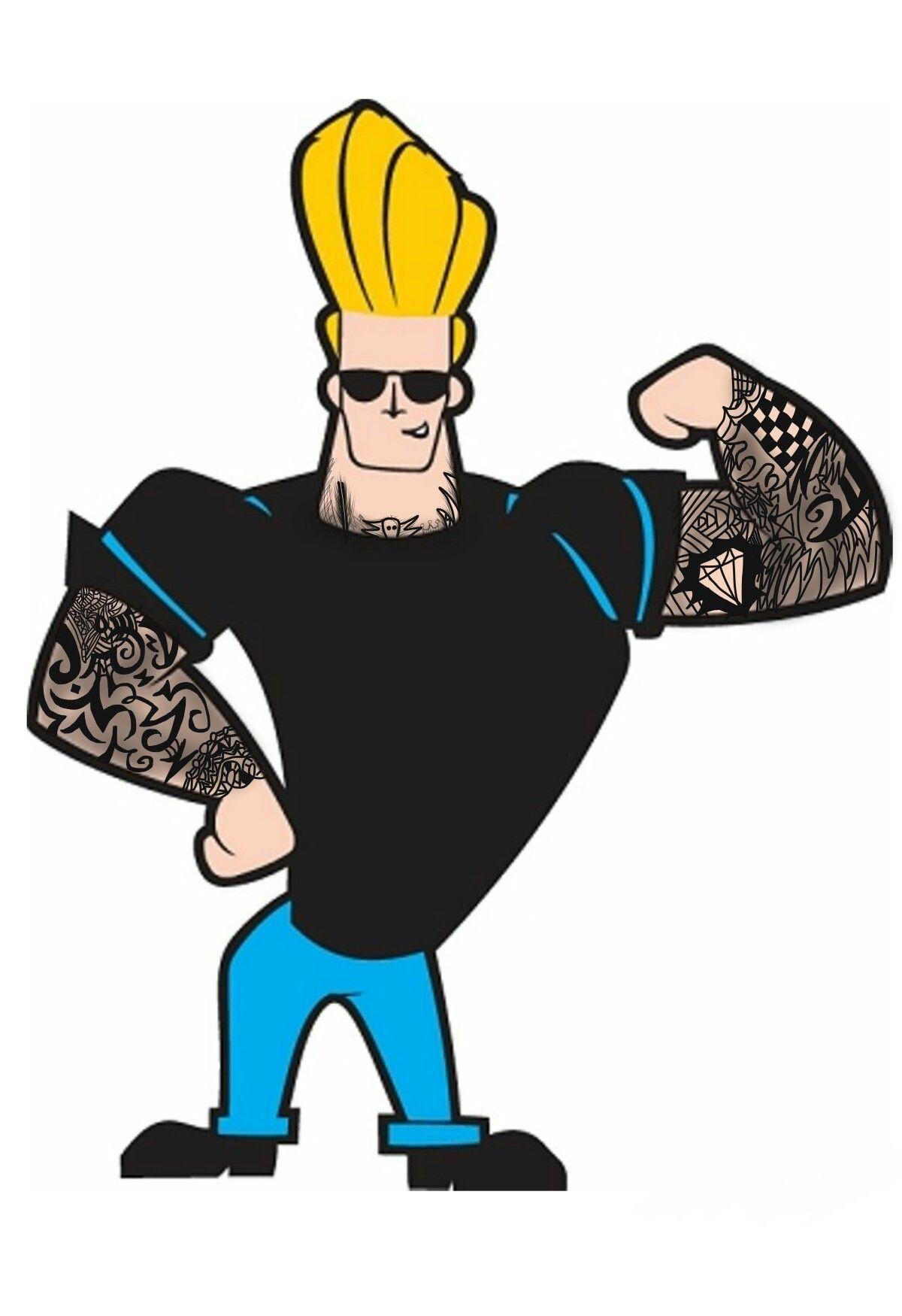 Johnny Bravo With Tattoos By Jawairiya In 2021 Johnny Bravo Cartoon Johnny Bravo Cartoon Photo