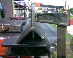 Sheet Metal Bender Brake The Make Diy First Use Stainless Steel Bbq 12 Jpg Metal Bender Sheet Metal Sheet Metal Bender