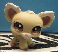 Littlest Pet Shop 1199 Cream White Chihuahua Puppy Dog White