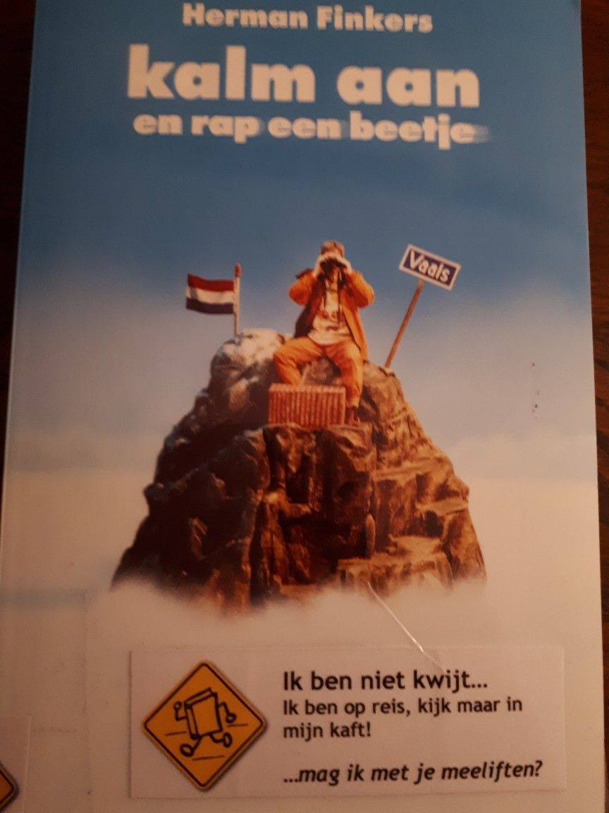 Boekperweek 4852 Herman Finkers Kalm Aan En Rap Een