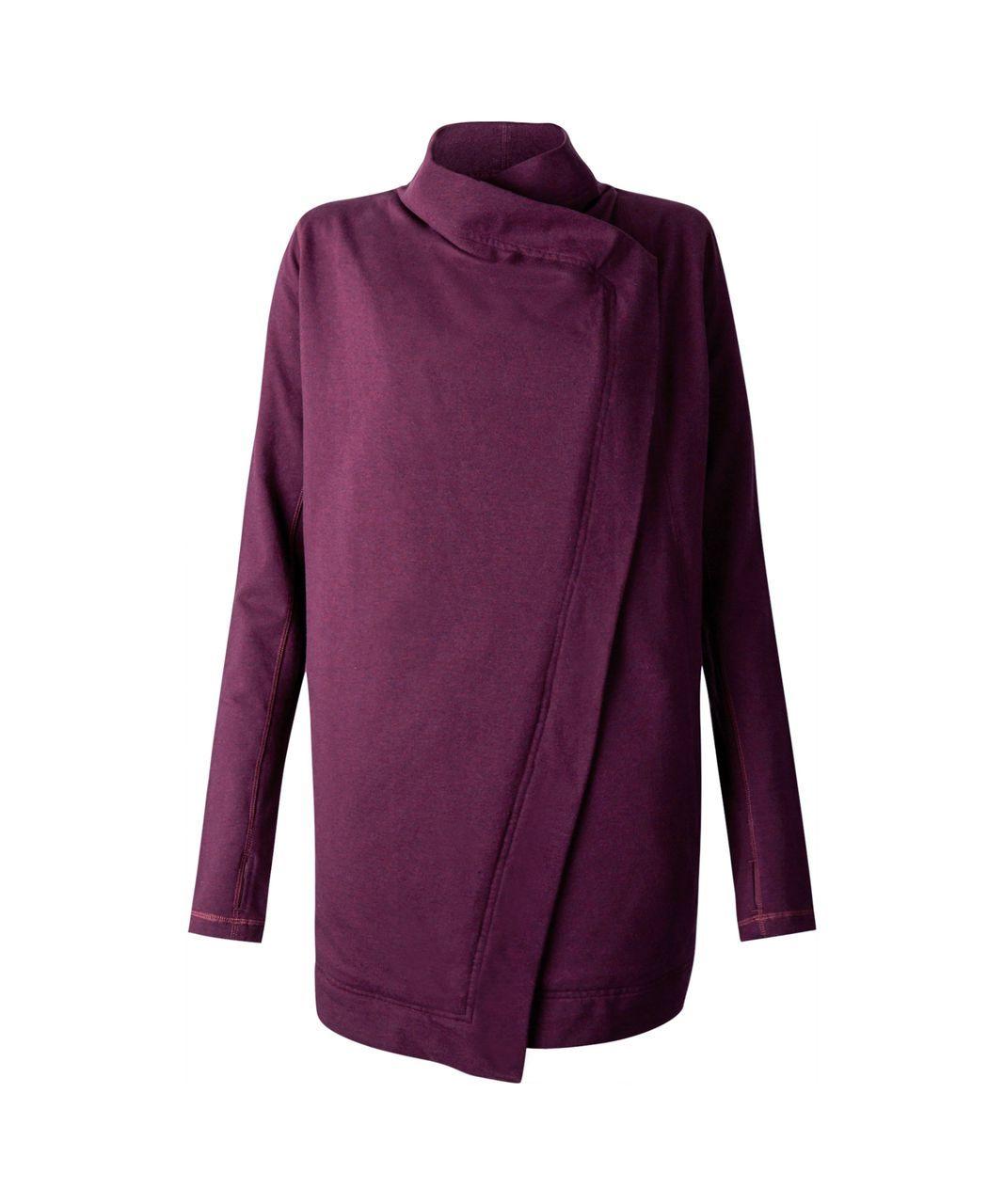 521b97fcc8dfa Lululemon Restore Wrap - Heathered Red Grape | Fashion | Style ...