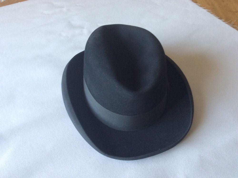 Vintage Homburg hat from Lock   Co. £74.00 (10B) +8.00PP  aa52d35a850
