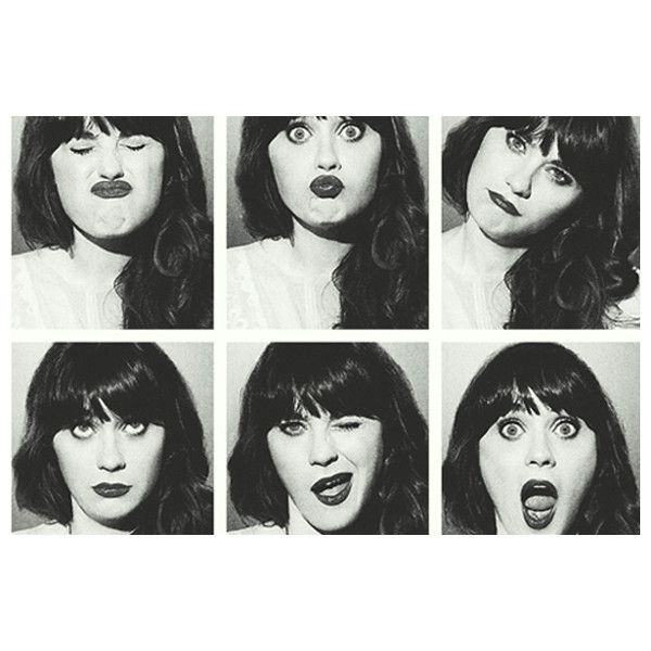 Zooey Deschanel, Style Icon ❤ liked on Polyvore