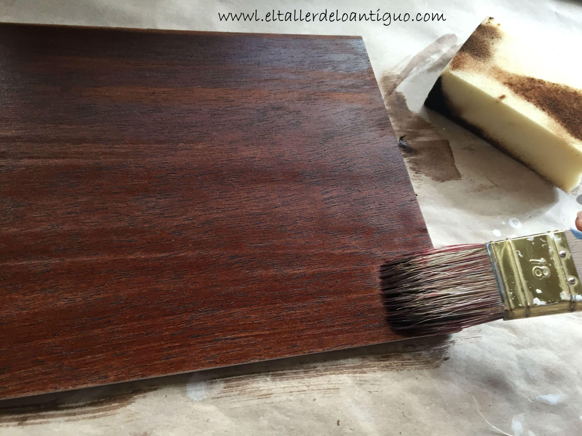 8-como-hacer-tinte-nogal-para-muebles | Manualidades | Pinterest ...