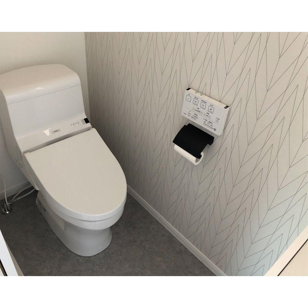 こんにちは 2階トイレ が見たいと リクエストをいただいたので 何の変哲も無い 標準トイレです 笑 しかも狭すぎて写真に収まってくれなくて 頑張って撮ってみましたが こんな感じで分かりますかね ペーパーホルダー は サンワカンパニー 天井 トイレ