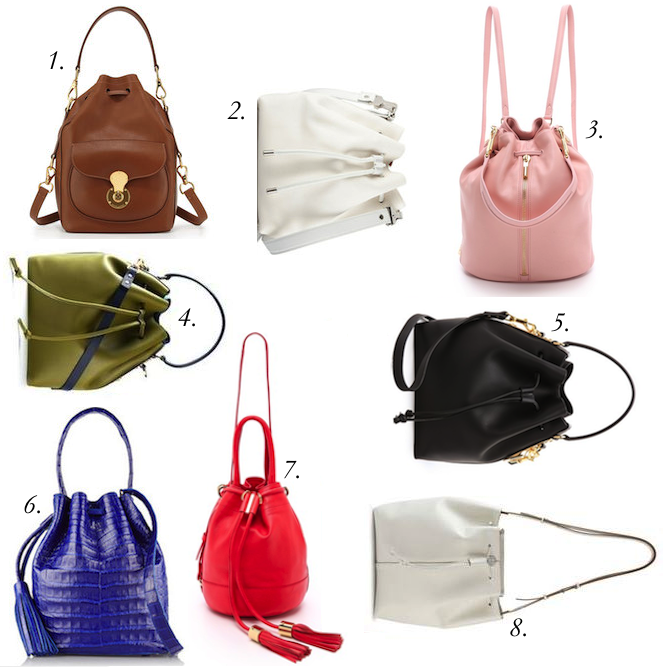 Bucket Bags: It Don't Mean a Thing, If It Ain't Got That Swing