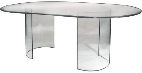 See Glass Dining Table Base Only By Spancraft 329 95 Glass
