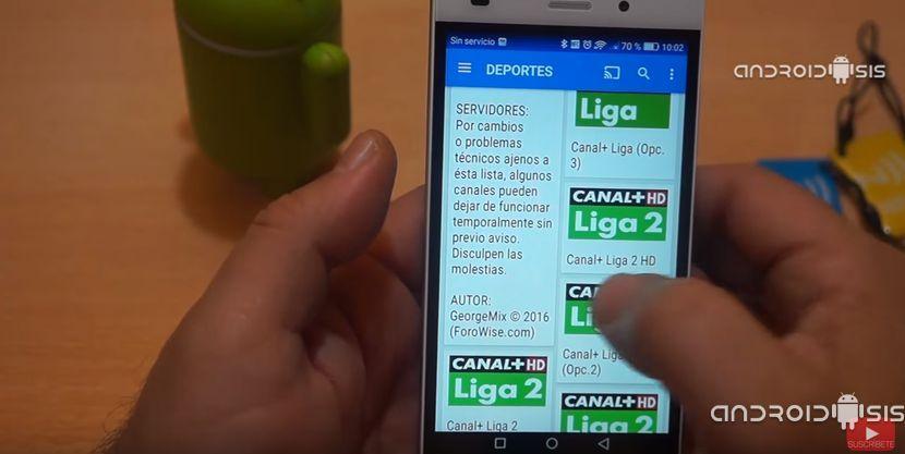 Cómo Ver Todo El Fútbol Gratis Desde Tu Android Y El Canal Futbol Gratis Android Fútbol