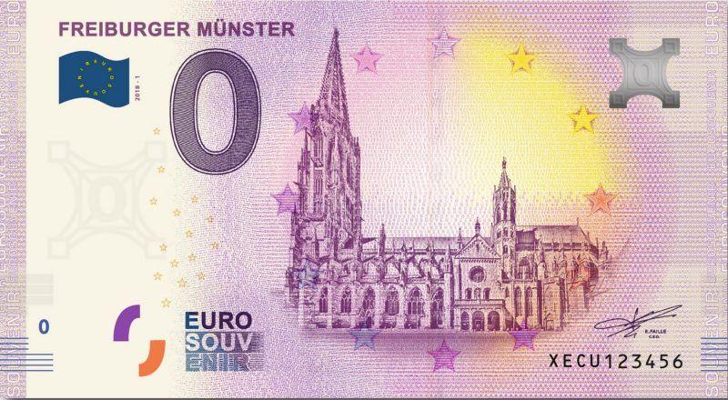 Freiburg Ab 12 10 Gibt Es In Freiburg Auch Einen Null Euro Schein Euro Scheine Scheine Euro
