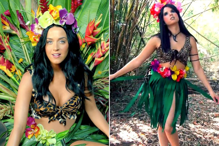 Gallery Katy Perry Roar Music Video Costume