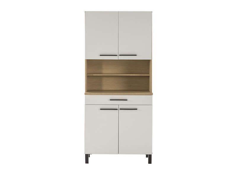 buffet de cuisine 80 cm 4 portes +1 tiroir