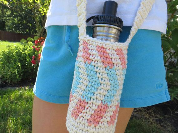 Hey, I found this really awesome Etsy listing at http://www.etsy.com/listing/158605063/crochet-water-bottle-holder-in-off-white