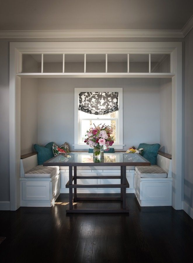 Roomreveal La Jolla Custom Banquette Alcove By Andrea May Dining Nook Home Decor Home