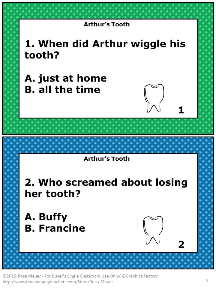 arthur writing activities