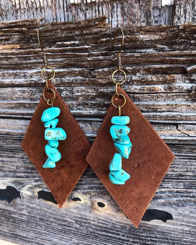 Leather & Turquoise