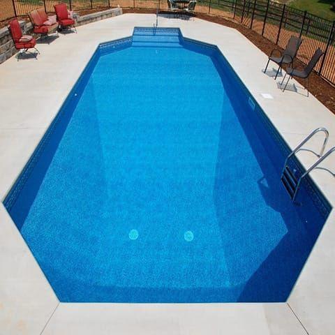20 6 X 40 6 Grecian Inground Pool Kit Swimming Pool Kits Pool Warehouse Pool Kits