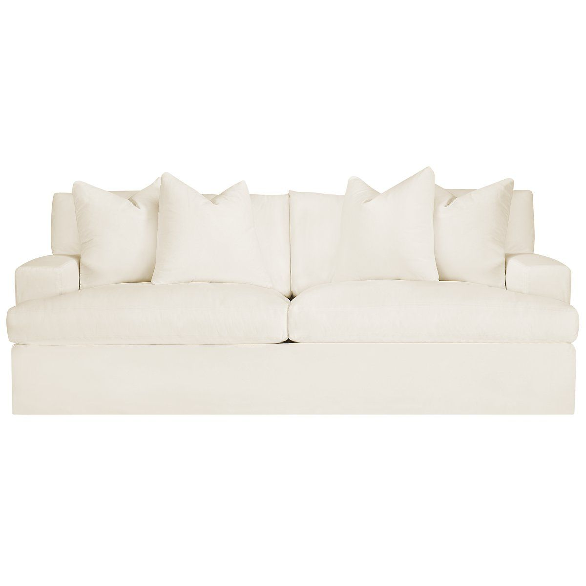 White Fabric Sofa Check More At Http