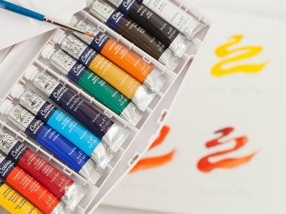 Winsor And Newton Cotman 45 Half Pan Watercolour Set Watercolor