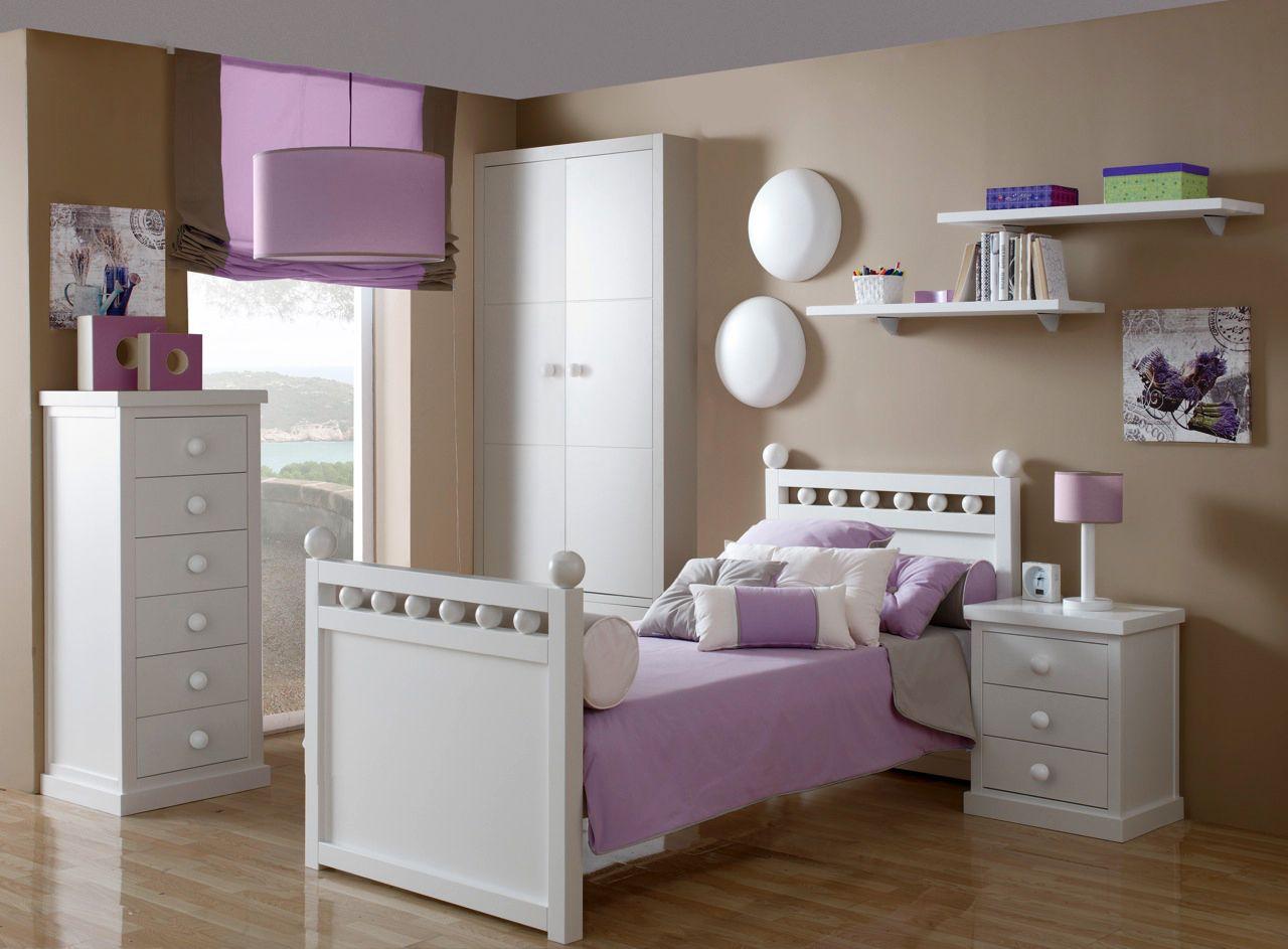 Habitaci n para ni a marca tr bol muebles en valencia en for Diseno de muebles para dormitorio de nina