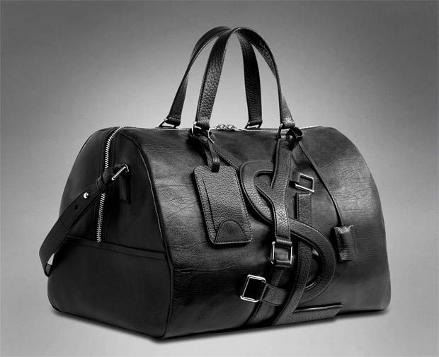 Yves Saint Lau Vavin Duffle In 2019 Leather Bag