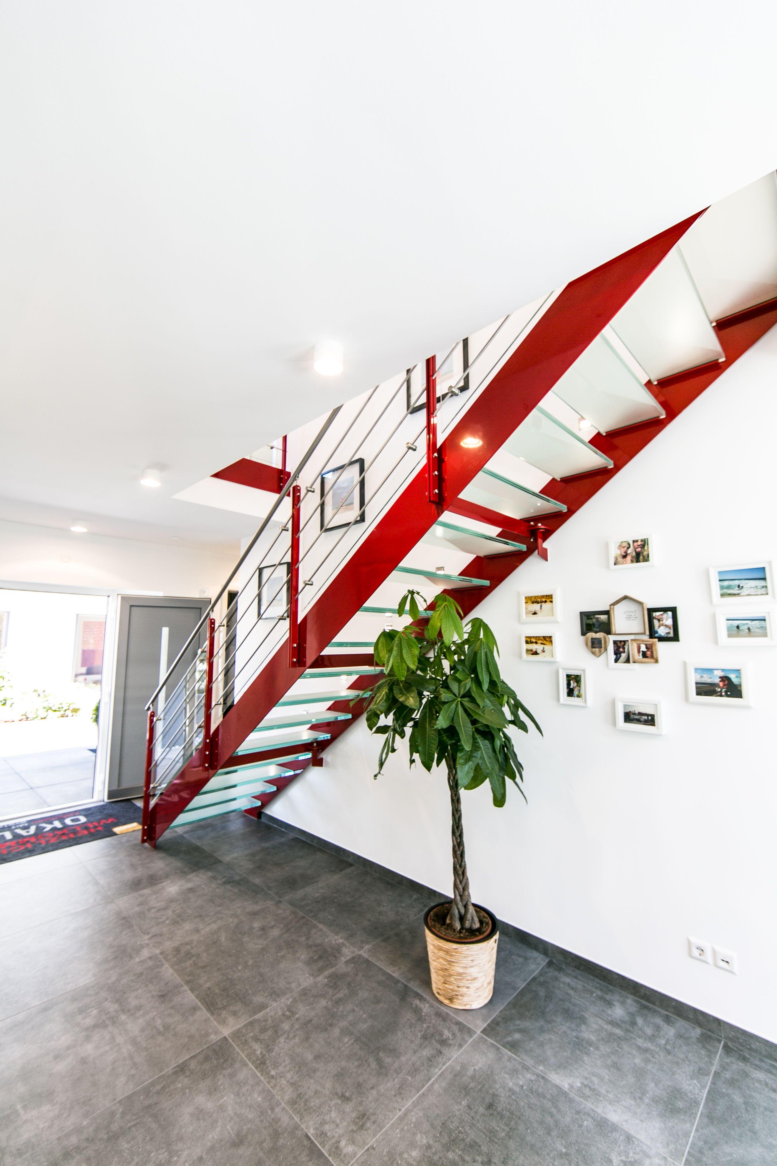 Bauunternehmen Offenburg okal musterhaus offenburg treppe okal flur garderobe