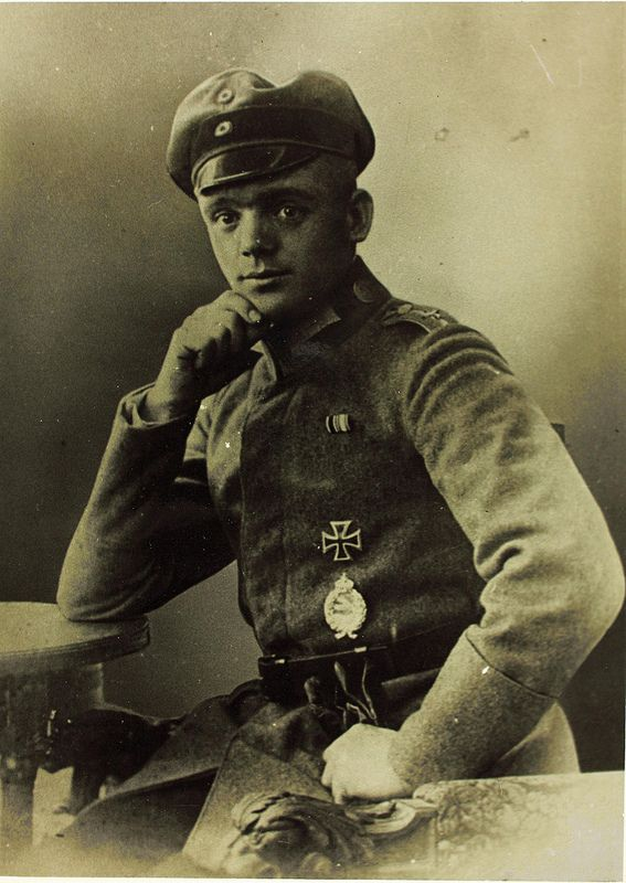 World War One German Aviator Julius Bücker