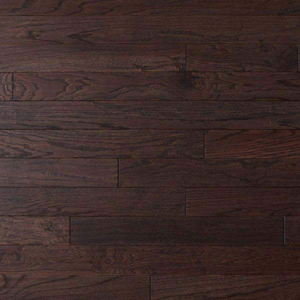 Dark Oak Wood Flooring Handscraped Oak Wood Oak Wood Floors Hardwood Floors Wood Floors
