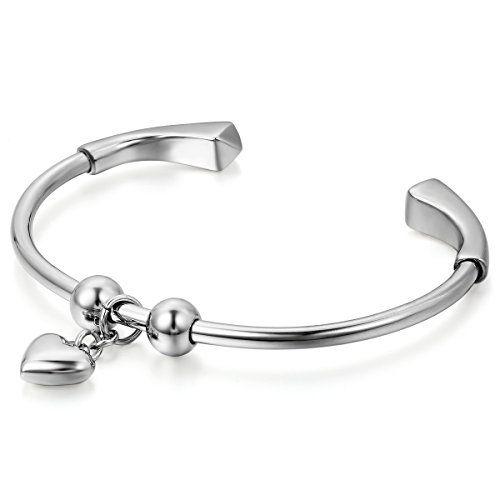Jewelrywe Joyería colgante corazón pulido pulsera elegant... https://www.amazon.es/dp/B01EUUVGN0/ref=cm_sw_r_pi_dp_c6-rxbHE2HX28