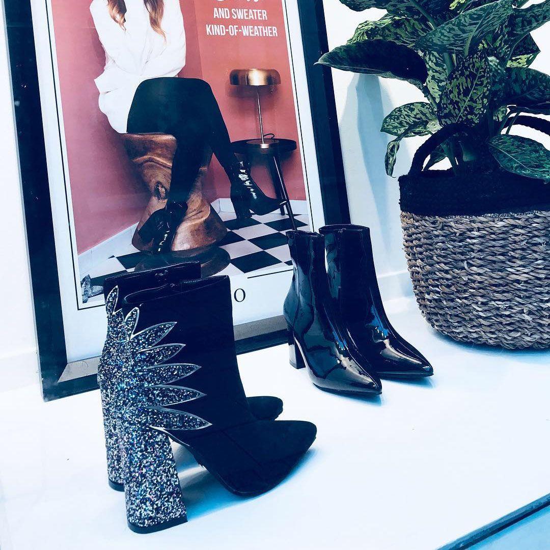 Love having high heels as a decor piece. Especially black