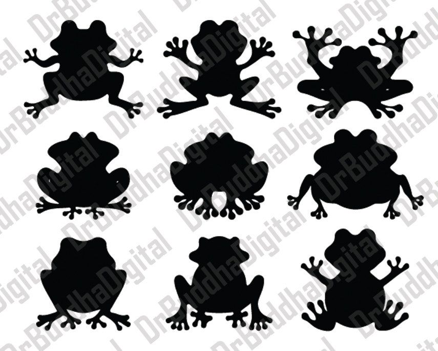 Free Frog Silhouette Clipart, Download Free Clip Art, Free Clip Art on  Clipart Library