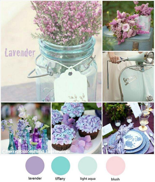 Tiffany Blue And Purple