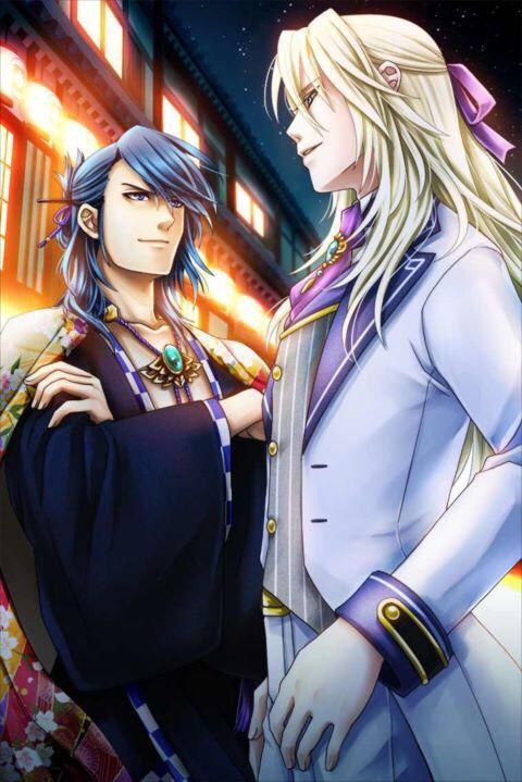Shall We Date: Ninja Assassin - como eu disse, até agora Aoi melhor pessoa. Essa foto dele enchendo o peito contra o Willem é ótima! Ciúme bateu!