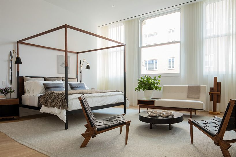 A First Look Inside Shigeru Ban S Cast Iron House In New York