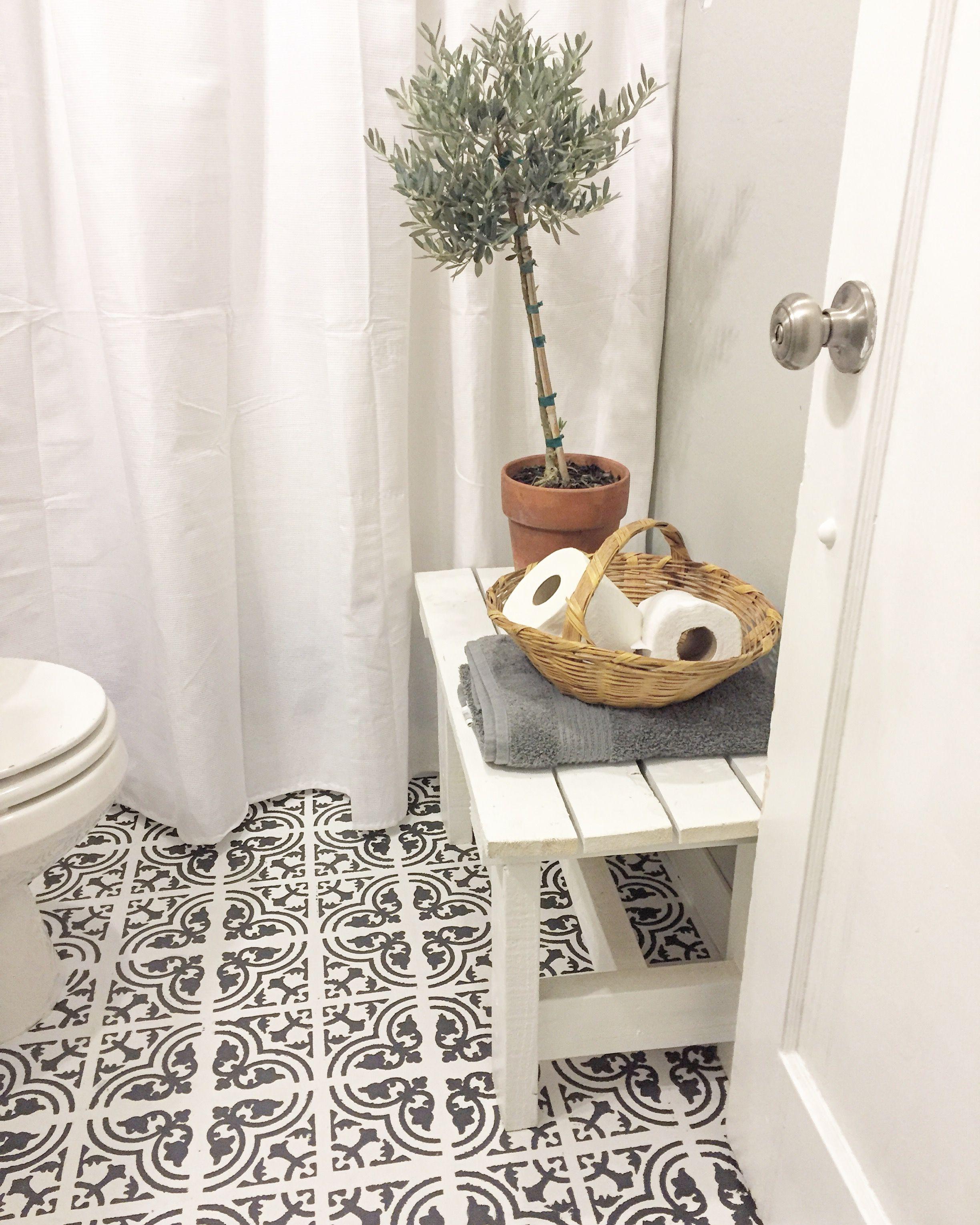 Rustoleum Chalk Paint Bathroom Vinyl