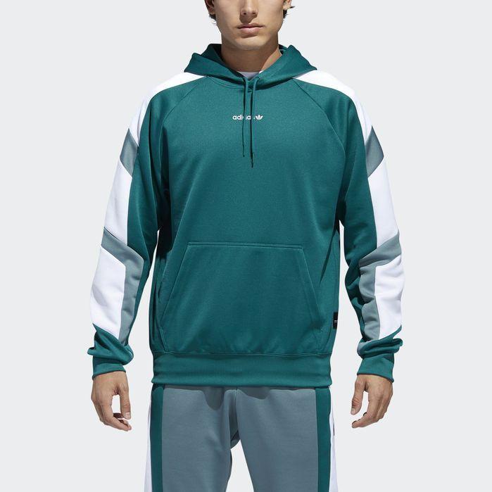 EQT Block Hoodie | Mens sweatshirts hoodie, Hoodies men