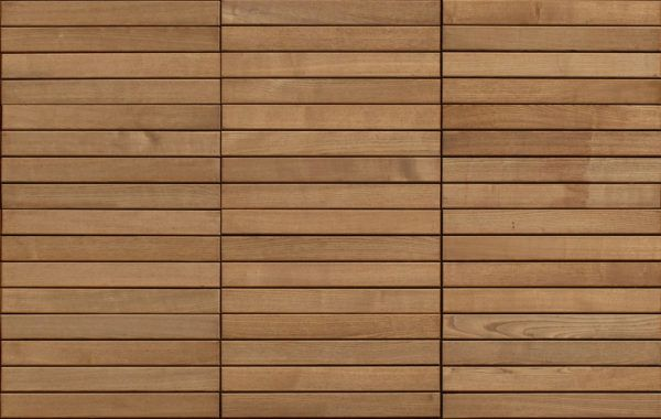 Horizontal Timber Panels Seamless Texture Scale Model In