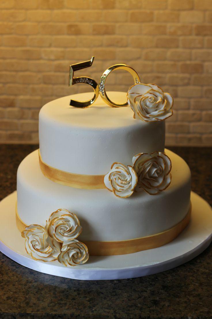 50th Anniversary Cake Ideas   50th anniversary cakes ...