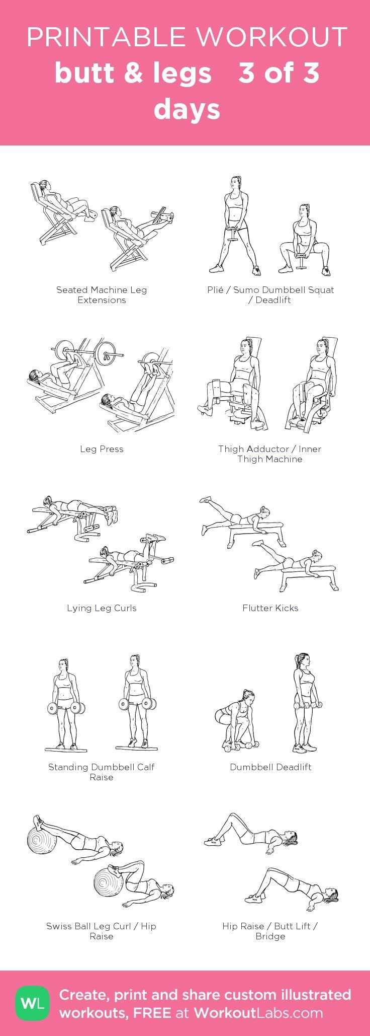Pin by Sarah Hubbard on Fitness | Gym workouts, Workout