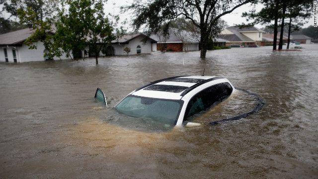 News Jagaban: Flood Wreck Harvoc in Lousiana