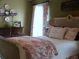 toile de jouy pink bedroom - Google Search