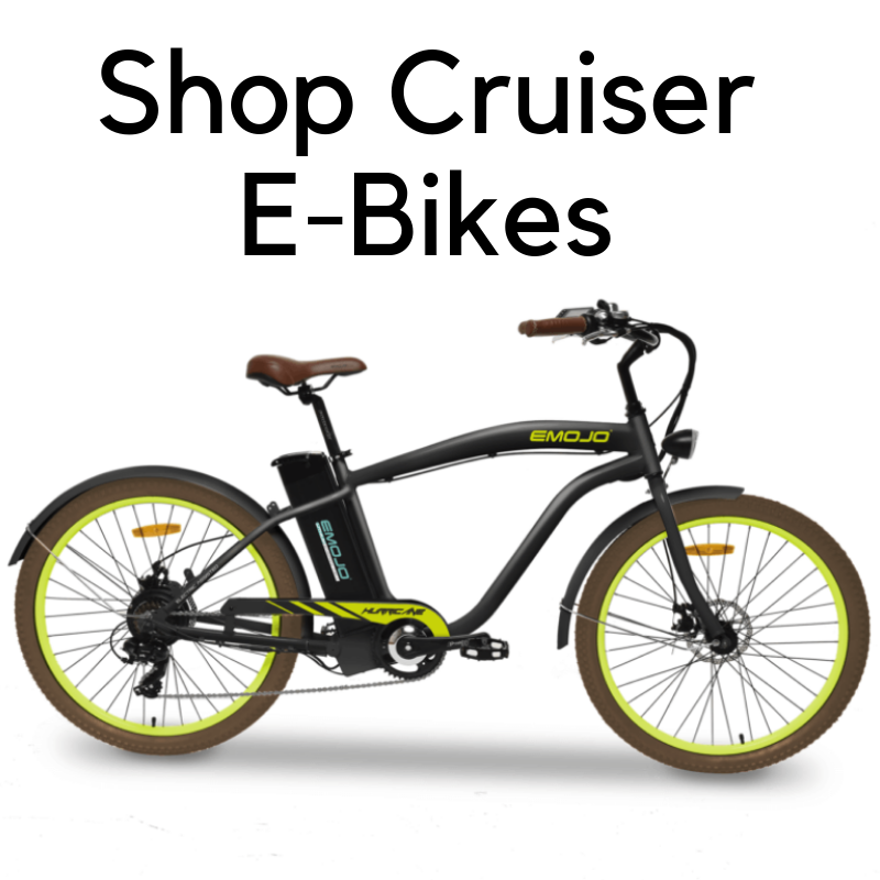 Cruiser E Bikes Give You The Ability To Feel The Wind In Your Face