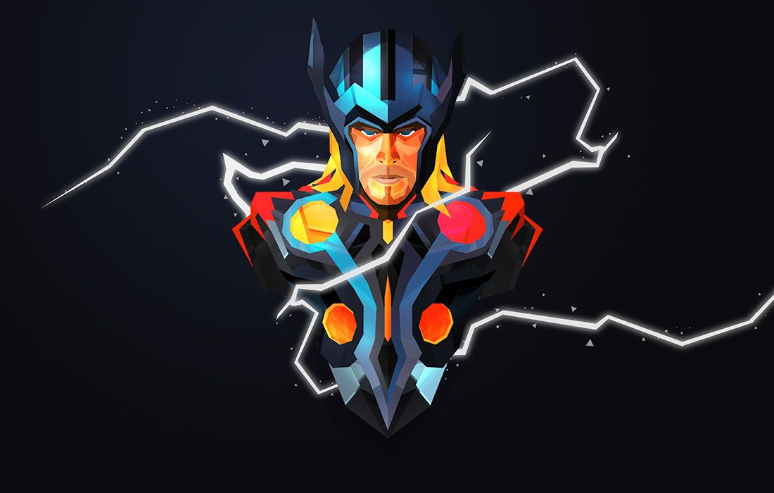 Au77 Doctor Strange Hero Illustration Art: Helmetica II By Justin Maller