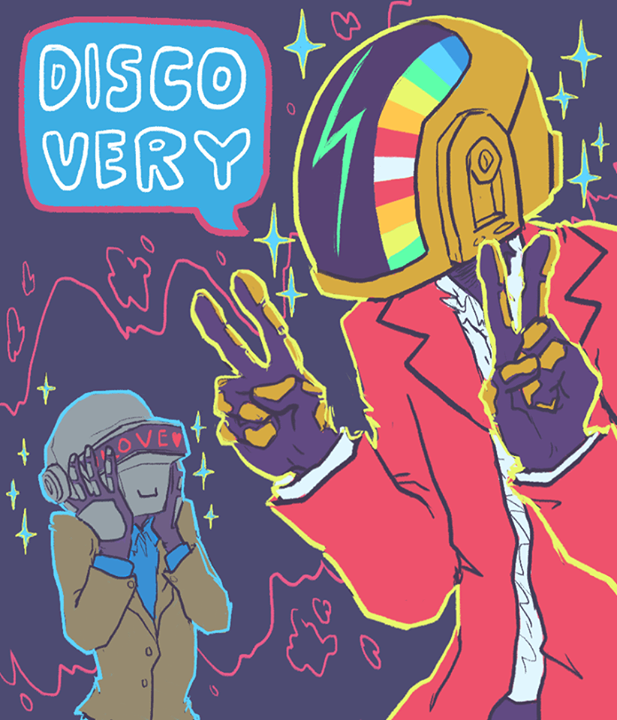 daft punk veridis quo very disco