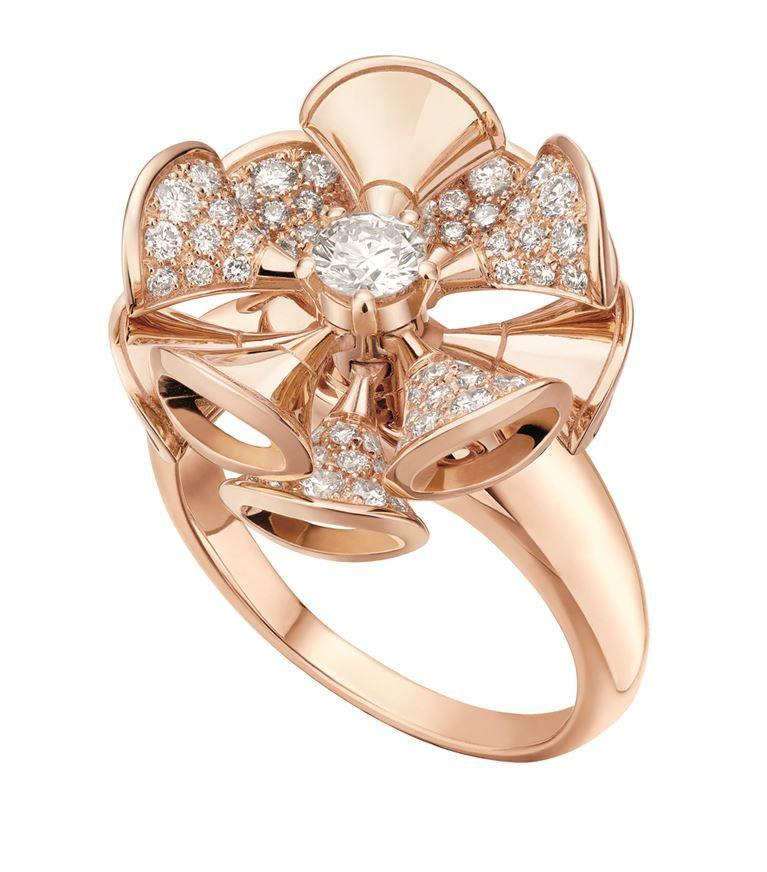 Accessories All Fine Watches Bvlgari Rose Gold And Diamond Divas