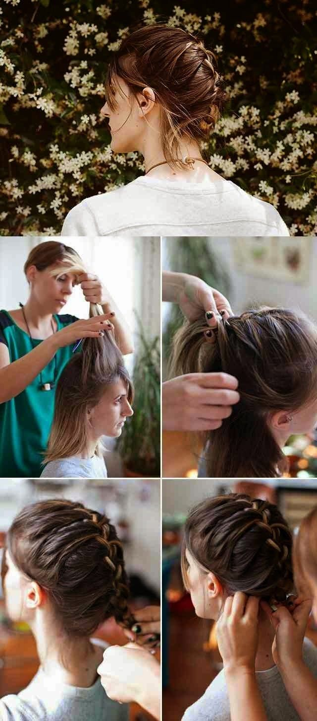Classic French Lovely Braided Hairstyle img3b17977bd35d2b3a5