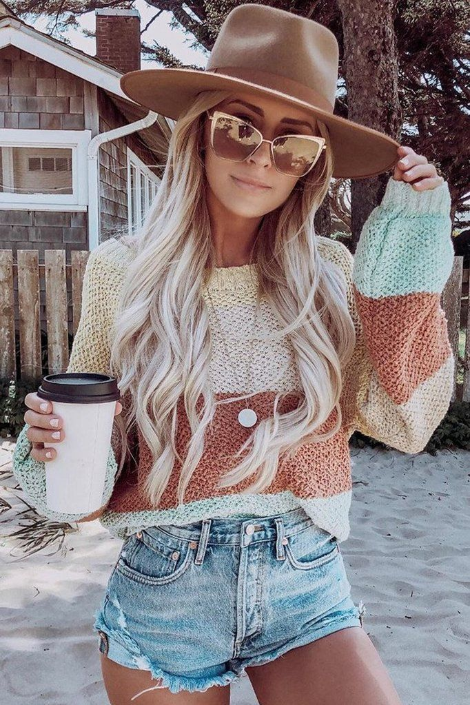 Photo of Sweet Style Striped Sweater – #Striped #Style #Sweater #sweet