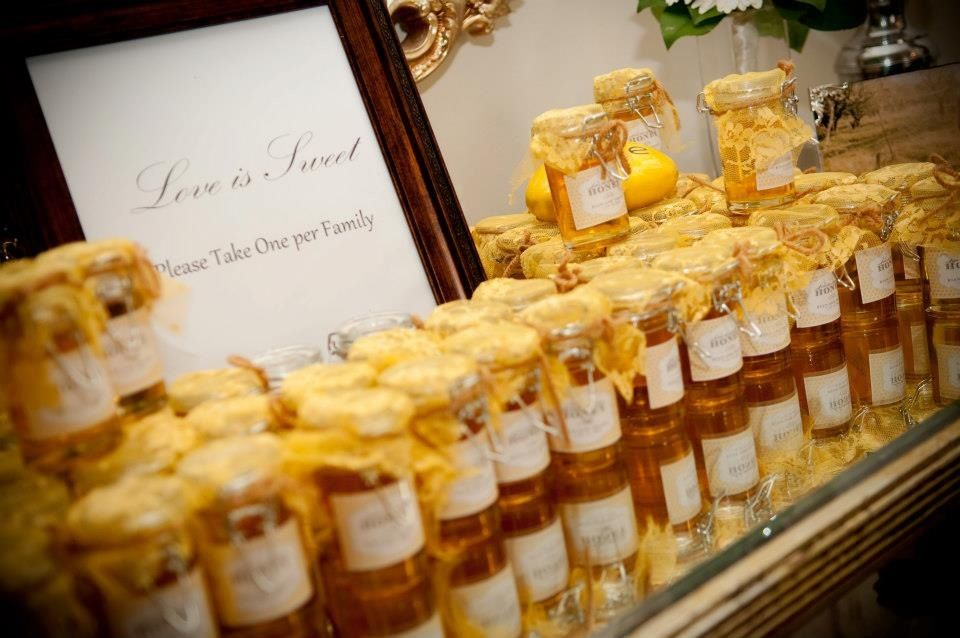 wedding favors yellow lace the jar the label rustic wedding wedding ...