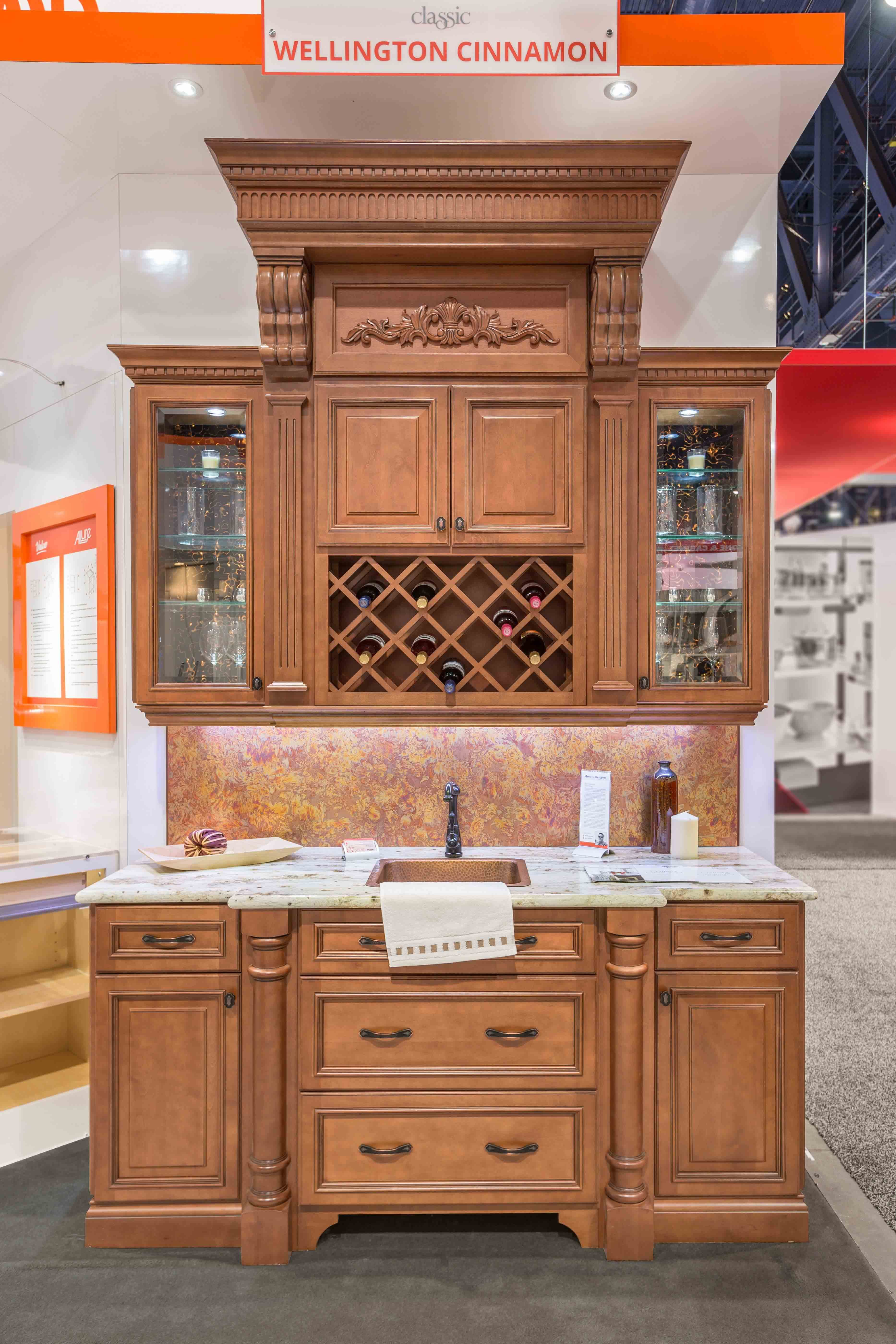 Best Fabuwood Cabinetry Kbis 2016 Booth Featuring Formica 640 x 480