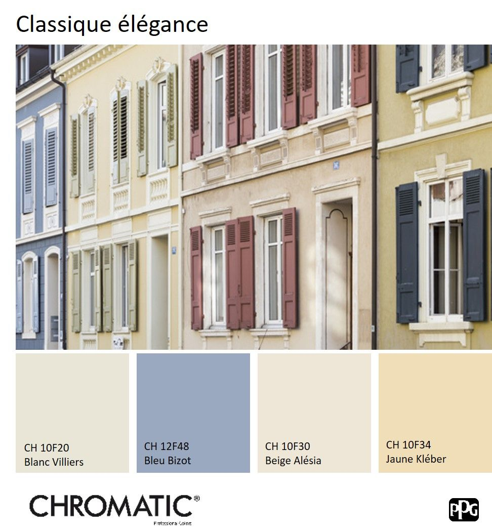 Maison Peinte En Blanc Exterieur retrouvez le #nuancier chromatic® facade sur www