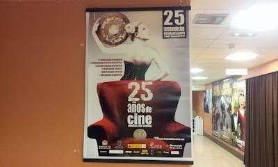 25 edición de la Semana de Cine en Medina del Campo. Estuvimos, viendo cortos. Muy bien. Un festival de los de no perderse.